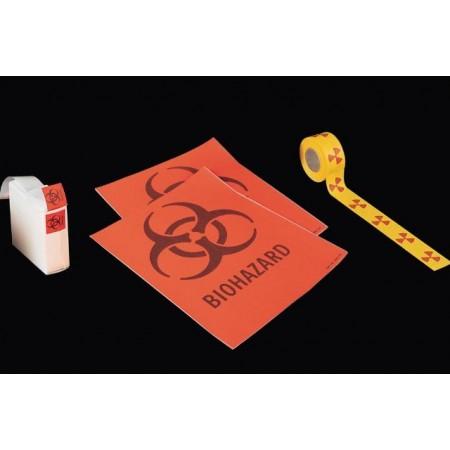 Öntapadós figyelmeztető, biztonsági címkék