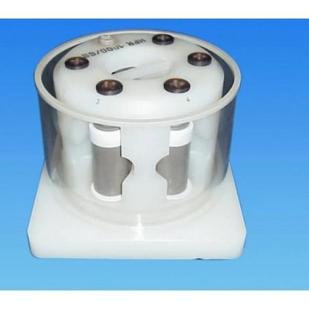 Vízhűtő egység a monoblokkos rotor gyors lehűtéséhez