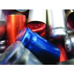 Szellőzős kupak üveg kémcsövekre autoklávozáshoz, alumínium
