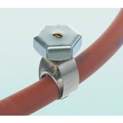 Unex típusú csőszorító bilincs, kézzel nyitható