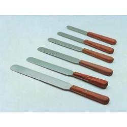 Gyógyszertári spatula fa nyéllel