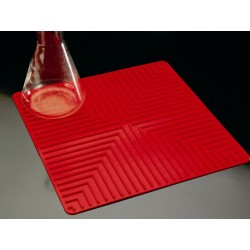 Szilikon alátét csúszásgátló felülettel, piros