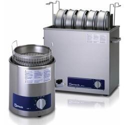 RETSCH ultrahangos szitamosó készülékek