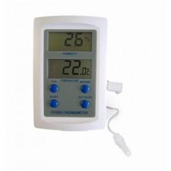 Digitális kétcsatornás páratartalom/hőmérő