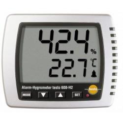 TESTO 608-H1 és 608-H2 típusú páratartalom- és hőmérsékletmérő