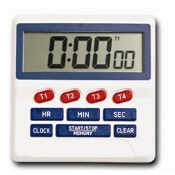 Négycsatornás digitális időzítő óra