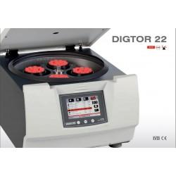 Orto Alresa Digtor 22 laboratóriumi centrifuga