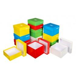 Összeállított fagyasztó dobozok