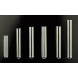 Kémcső, műanyag, (PS) polisztirol, centrifugálható