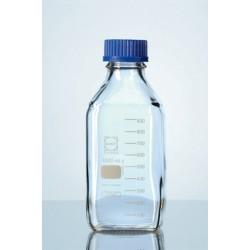 DURAN márkájú, négyszögletes laboratóriumi üveg