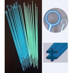 Oltókacs, oltótű, kalibrált, steril, 1 µl és 10 µl, műanyag, PS