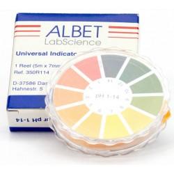 pH indikátor papírok