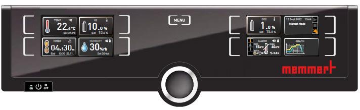 Memmert ICO szén-dioxid inkubátor vezérlő